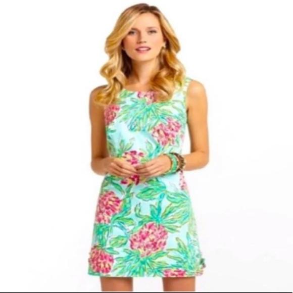 Cute pineapple lily dress